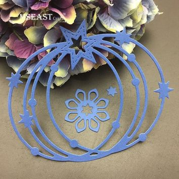 MSEAST CRAFT Pumpkin flowers Metal Cutting Dies Stencils for DIY Scrapbooking/photo album Decorative Embossing Paper Cards