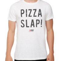 Awesomeness TV Expelled Cameron Dallas Pizza Slap! T-Shirt