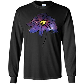 Becoming Trippy Galaxy Flower 2017 T Shirt