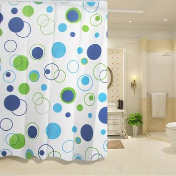 Bathroom Shower Curtains Waterproof PEVA Mildew Proof Shower Curtain7 Styles For Choose