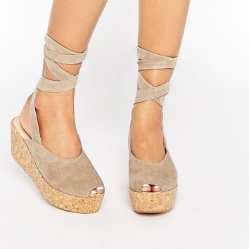 Warehouse Wrap Around Flatforms at asos.com