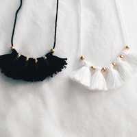 Metier x Grace Tassel Necklace