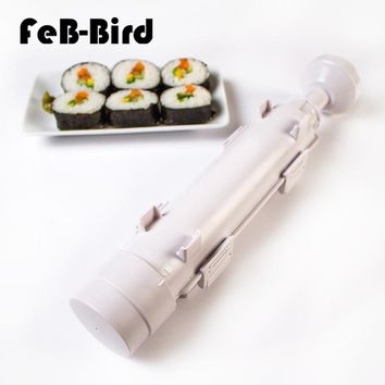 DIY Easy Sushi Maker Equipment Kit Japanese Rice Ball Cake Roll Mold Sushi Multifunctional Mould Making Sushi Tools