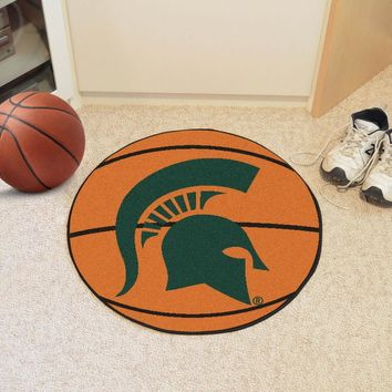 FanMats Michigan State University Basketball Mat