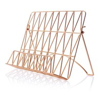 Copper Wire Recipe Stand - Kitchen - Oliver Bonas