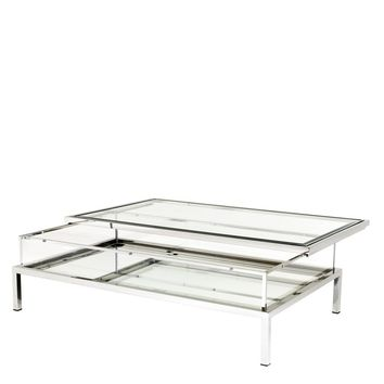 Silver Sliding Top Coffee Table | Eichholtz Harvey