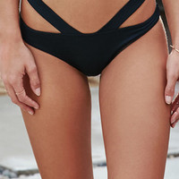 LA Hearts Harness Straps Skimpy Bikini Bottom at PacSun.com