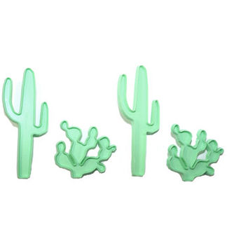 Vintage Cactus Cookie Cutters Saguaro Cookie Cutter Southwestern Cookie Cutter Set Christmas Gift Stocking Stuffers
