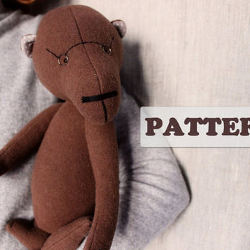 PATTERN for 15 inch artist bear diy teddy bear pattern