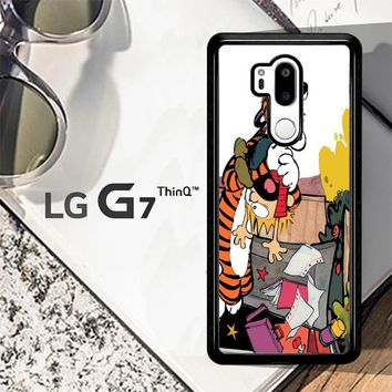 Calvin And Hobbes V0305 LG G7 ThinQ Case