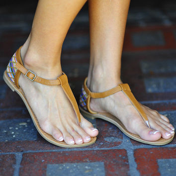 We Are Young Sandals: Multi | Hope's