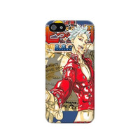 P2150 Nanatsu no Taizai Seven Deadly Sins Ban Case For IPHONE 5/5S