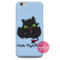 Hello Night Fury-Dragon iPhone Case 3, 4, 5, 6 Cover