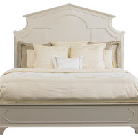 White Cathedral Bed, Queen, Panel Beds