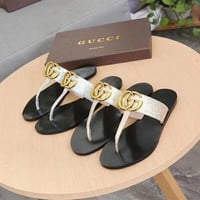 Gucci Fashion Women Casual Comfortable Sandals Shoes Slippers-5