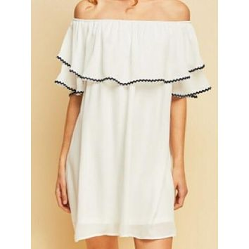 Heartbreaker Dress | White
