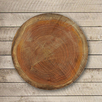 Brown LOG WOOD Vintage Mouse Pad Antique Wooden Printed MousePad Circle Accessory Mat Personalized Gift Desk Deco Computer Love Boss Gift