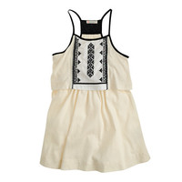 crewcuts Girls Embroidered Tiered Sundress