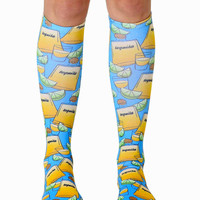 Tequila Knee High Socks