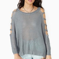 Sweet Shreds Knit - Gray