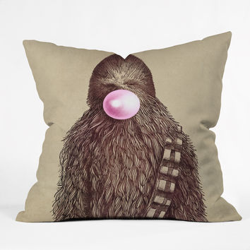 Eric Fan Big Chew Throw Pillow