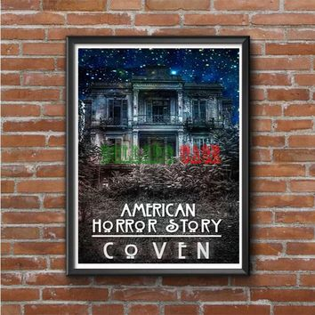 American Horror Story coven In Galaxy Photo Poster