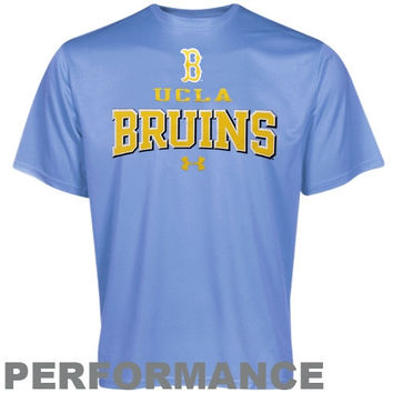 Under Armour UCLA Bruins HeatGear Performance T-Shirt - True Blue