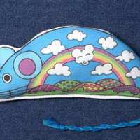 "Catnip Cat Toy/ SNAZZY RAT Mouse / ""Cloud Nine""/ OR Lavender Sachet"
