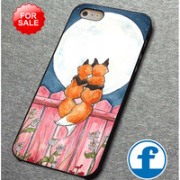 fox loving for iphone, ipod, samsung galaxy, HTC and Nexus PHONE CASE
