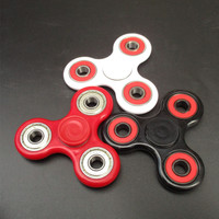 New type ! 1 pcs Mostly 120-180 seconds Spin Tri Fidget Stable Desk Gyro Kids EDC Hand Spinner