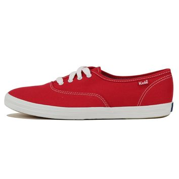 Keds for Women: Champion Red Sneakers