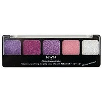 New NYX Glitter Cream Palette Pretty In Pink