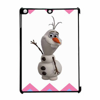 Olaf Disney Frozen Blue Pink Chevron iPad Air Case