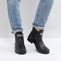 Barbour Chelsea Welly Boot with Logo Detail at asos.com