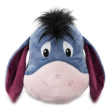 Disney Eeyore Face Plush Pillow Plush New with Tags