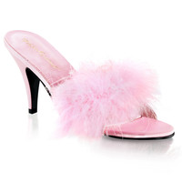 Pleaser Pink Label Amour Slippers