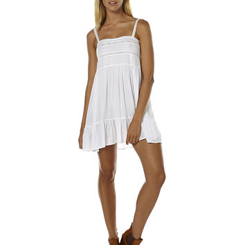 AUGUSTE SANDY DAYS WOMENS PLAY DRESS - WHITE