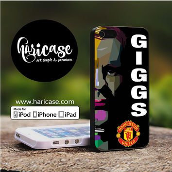 Giggs Manchester United iPhone 5 | 5S | SE Cases haricase.com