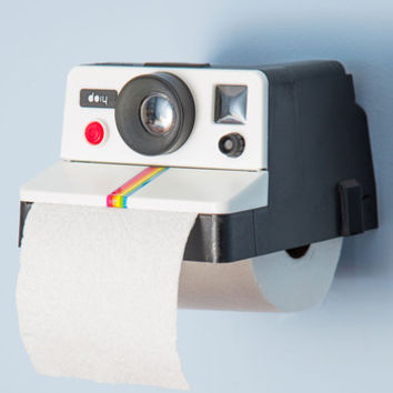 ModCloth Quirky Developing Your Decor Toilet Tissue Holder