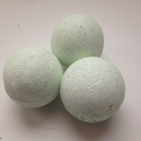 Bath Bomb with Arnica Massage Oil --Soothes sore muscles!