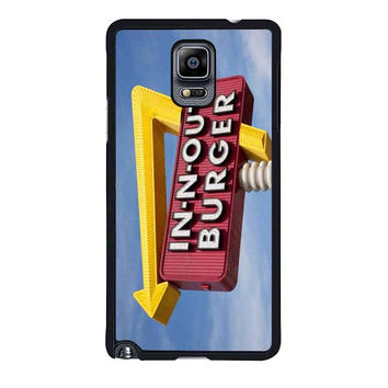 in n out burger funny samsung galaxy note 4 note 3 cover cases