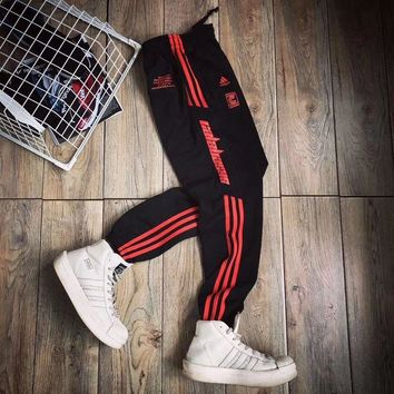 Adidas x Calabasas Fashion Women Men Loose Sport Trousers Sweatpants Gym Jogging Pants I