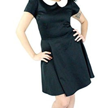 Women's Hemet Classic Wednesday Skater Dress Black
