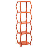 You should see this Soft Modern Tower Etagere in Orange on Daily Sales!