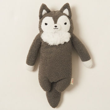 Fumofumo-san Dark Gray Rufu Plushie (Medium)