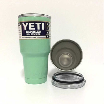 30 Oz Tumbler Yeti Bottle Travel Coffee Tea Cups and Mugs Rambler Tumblers Large Stainless Steel Insulated Coolers Car Beer Mug