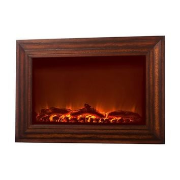 Fire Sense Wall Mounted Electric Fireplace - Wood (#60948)