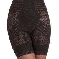 Pinup Elegant Underpinnings Contouring Shorts in Black