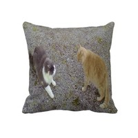 Two Cats Pillows