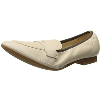 Amalfi by Rangoni Womens Fiametta Leather Slip On Penny Loafers